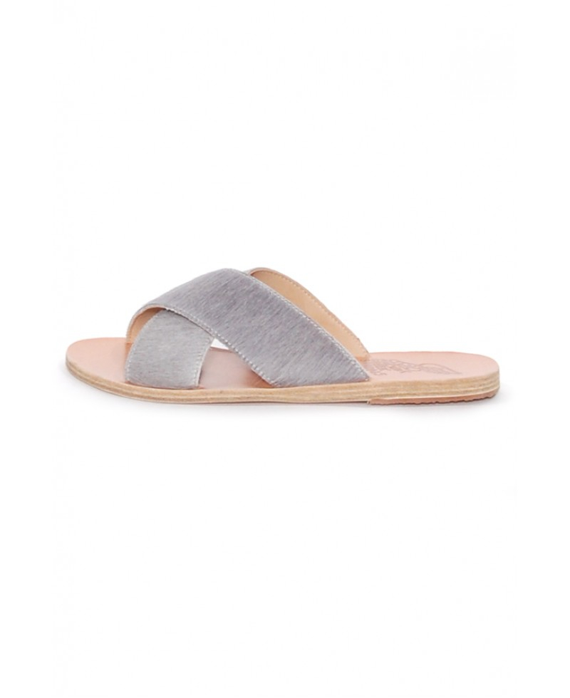 Thais leather & calf hair sandals Ancient Greek Sandals srQv4MyH