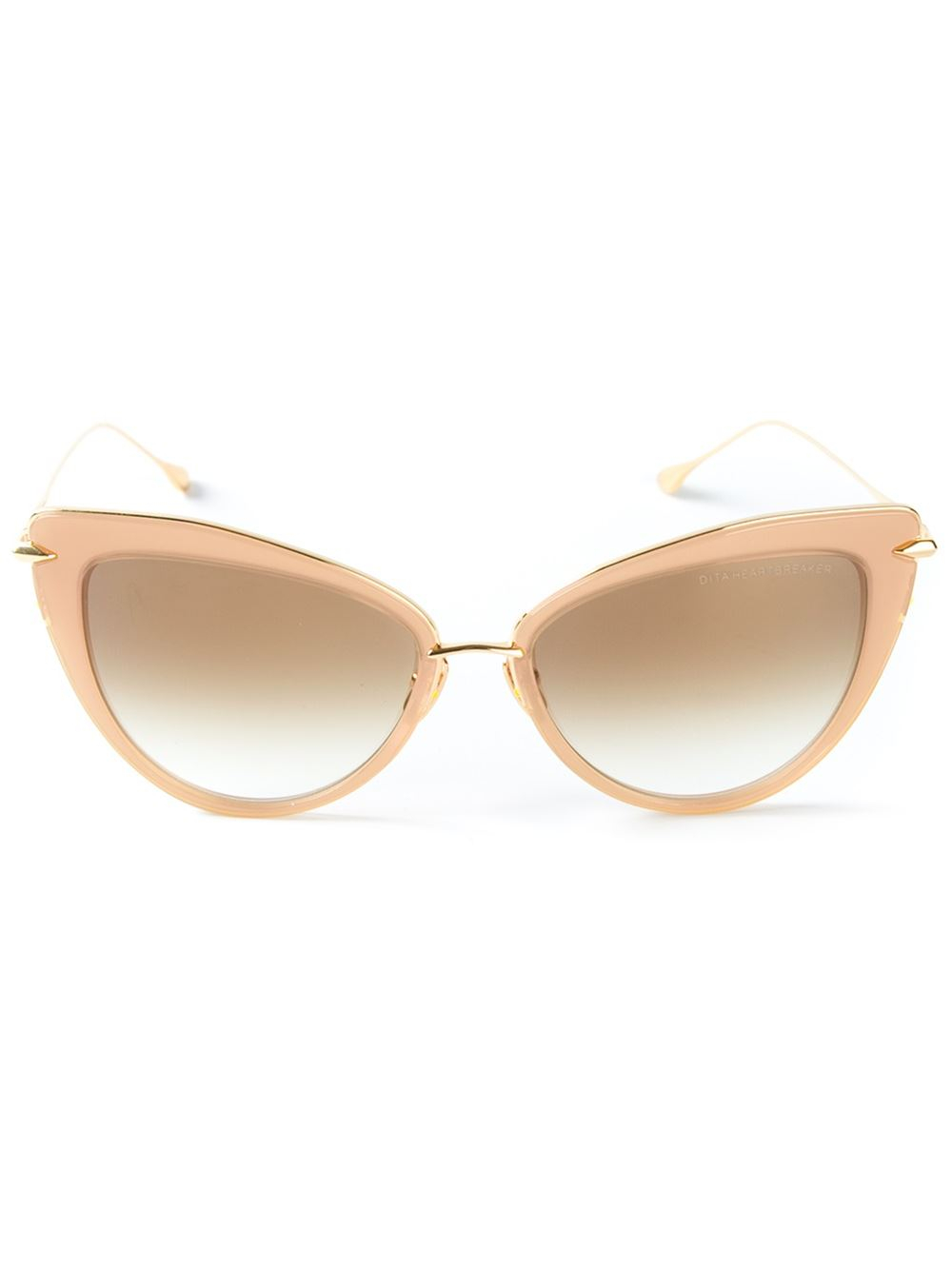 Dita eyewear 'Heartbreaker' Sunglasses in Natural | Lyst Dita Eyewear