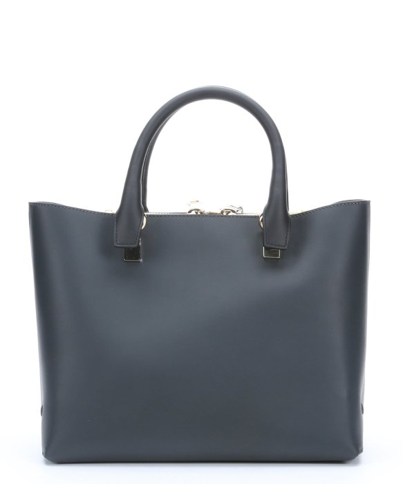 how to tell a fake chloe bag - Chlo�� Marshmallow Grey And Black Leather Top Handle Tote in Gray ...