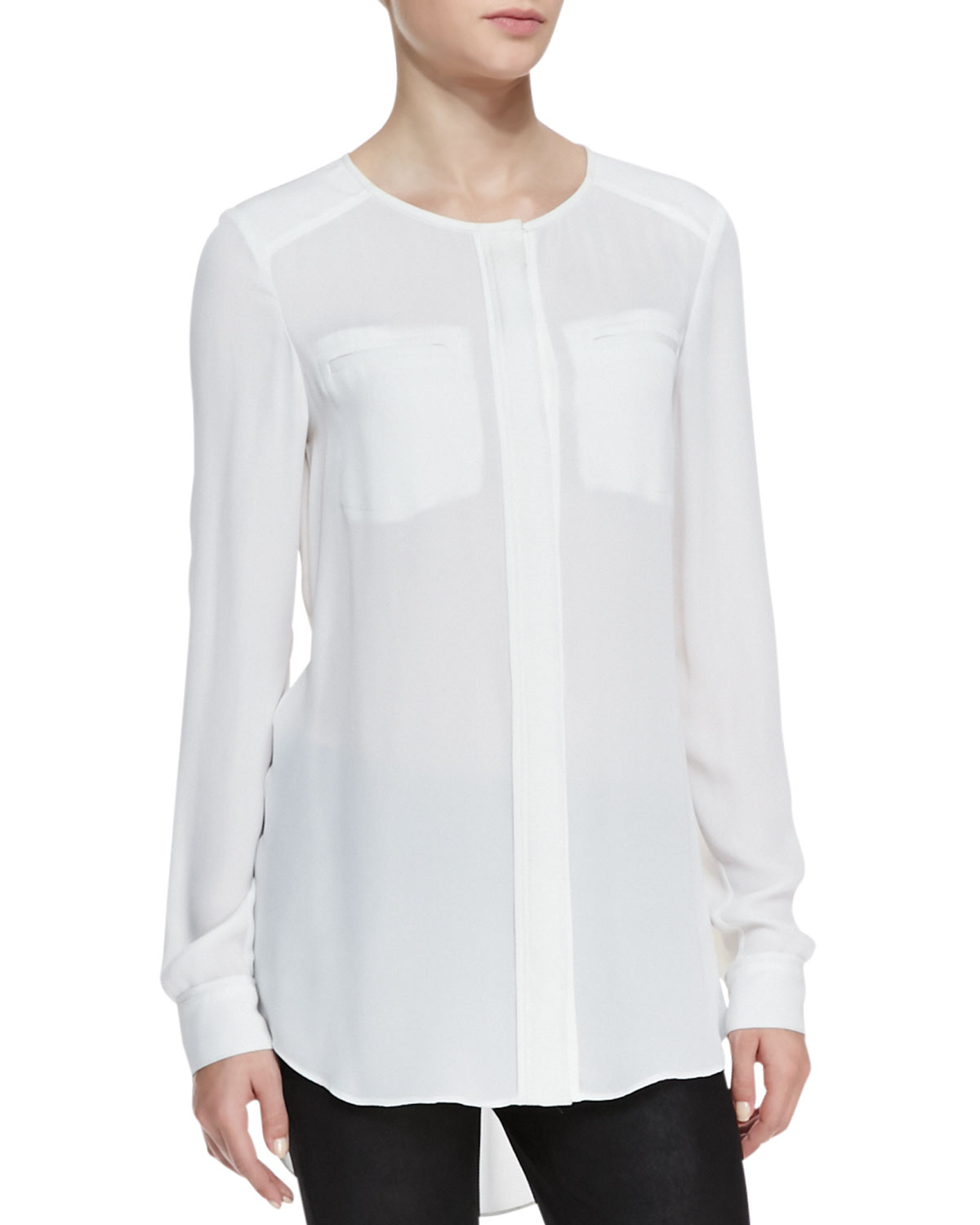 Find long white tunic blouse at ShopStyle. Shop the latest collection of long white tunic blouse from the most popular stores - all in one place.