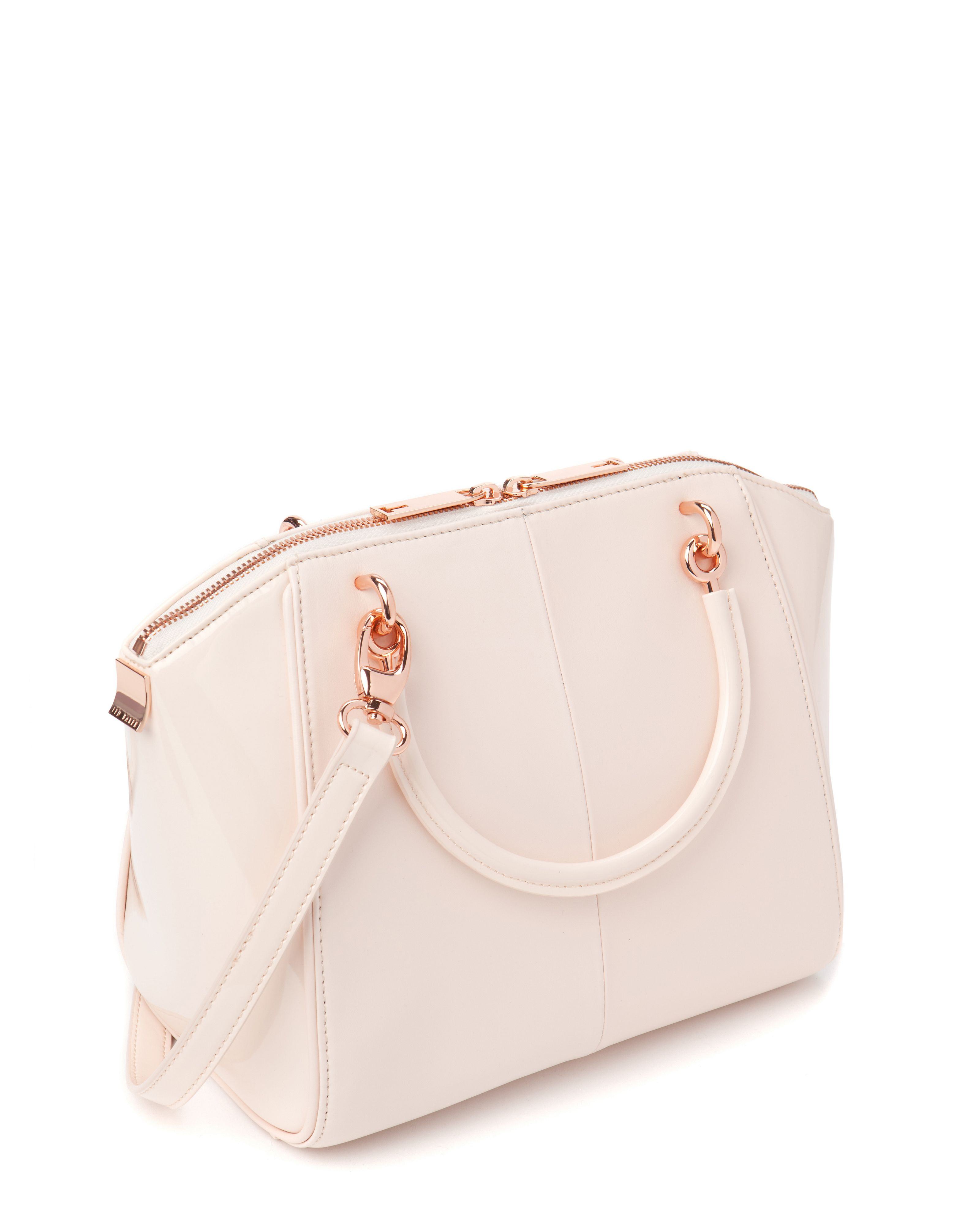 Ted Baker Petra Small Crystal Bow Tote in Pink