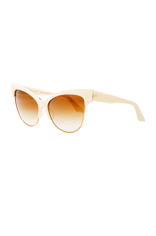 Oakley Batwolf Lenses >> Lyst - DITA 18k Gold Temptation Sunglasses in Natural