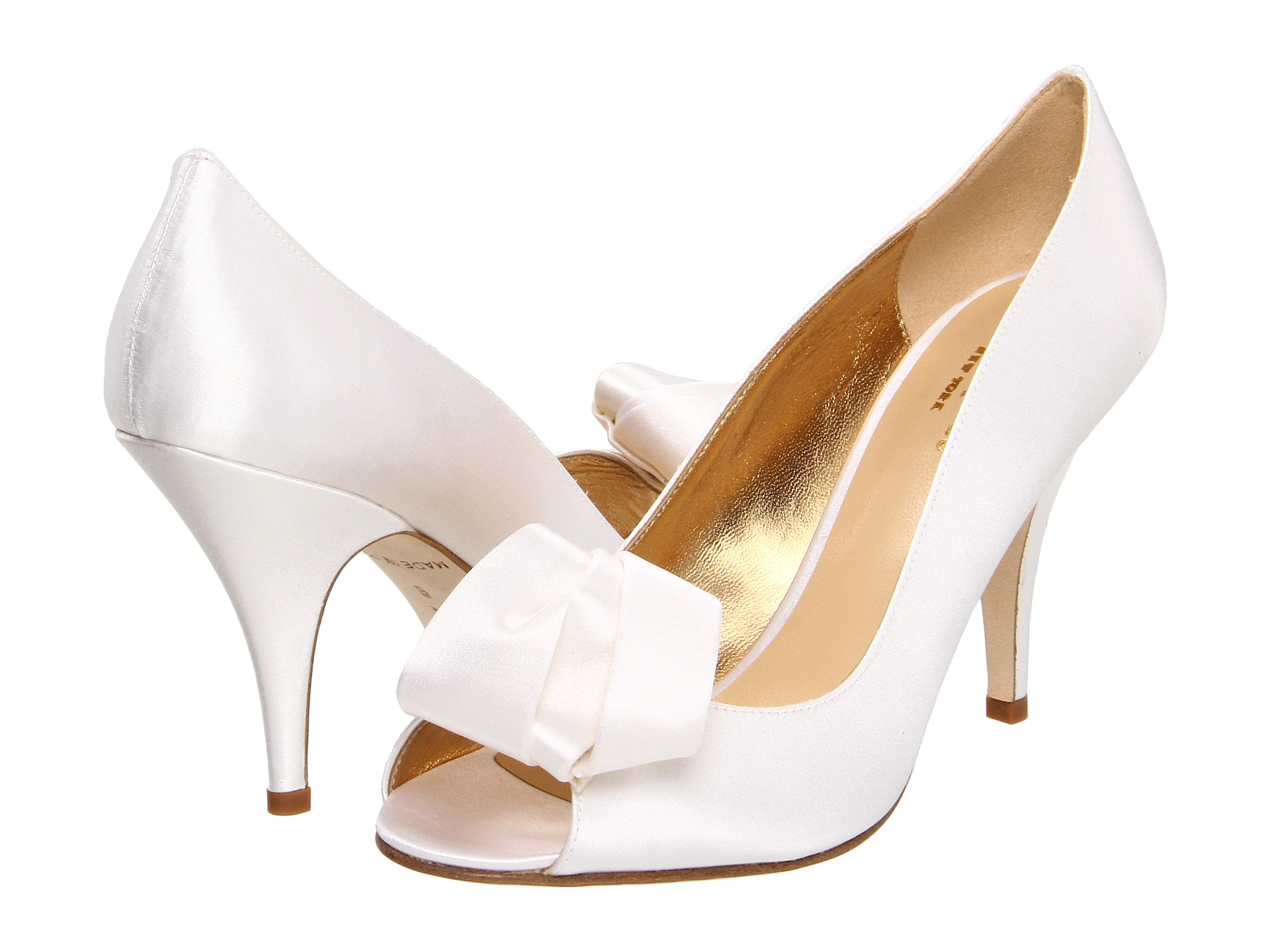 0d8c206b85a6 Lyst - Kate Spade Clarice Pumps in White