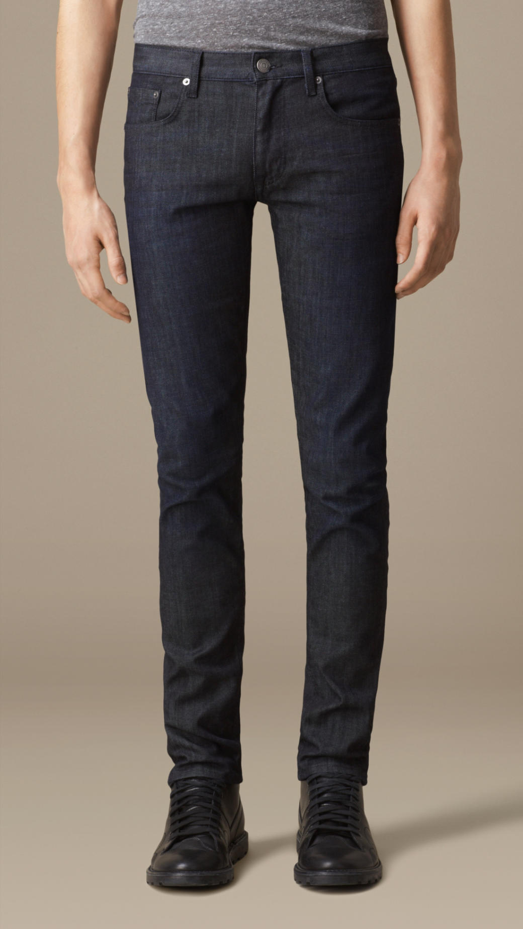 Burberry Shoreditch Midindigo Skinny Fit Jeans in Mid Indigo (Blue) for Men