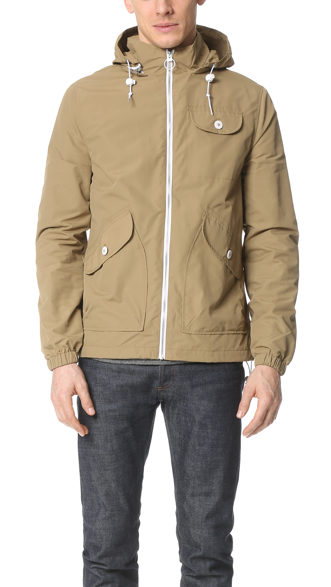 Penfield Rochester Rain Jacket in Natural for Men | Lyst