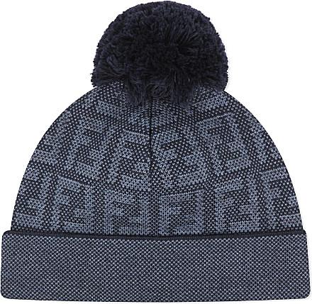 Fendi Logo Bobble Hat 8f5c5b5a7de2