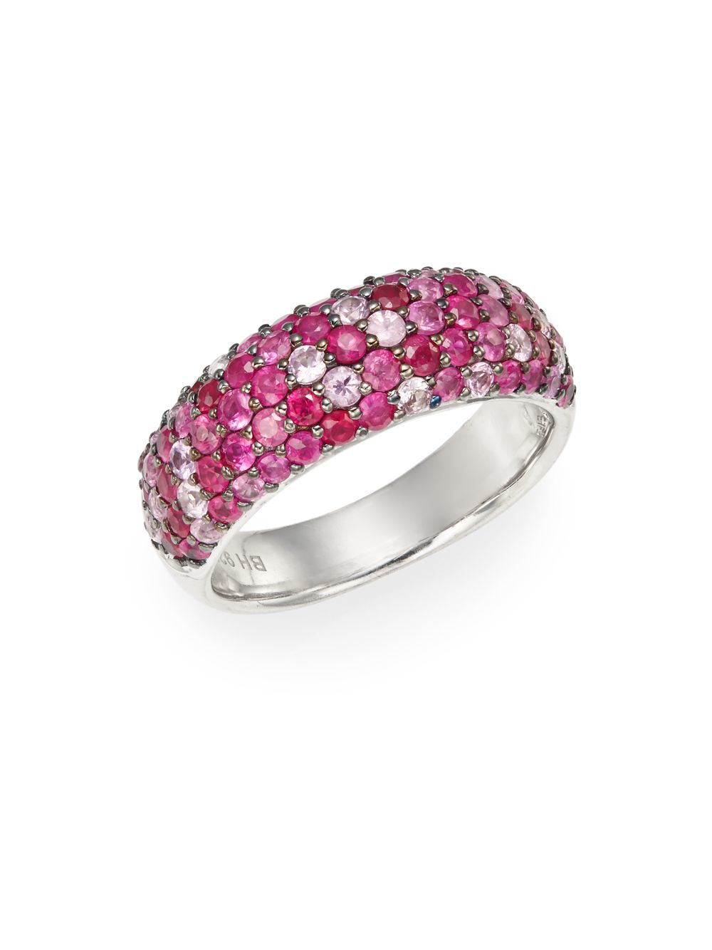 Effy Pink Sapphire And Diamond Ring