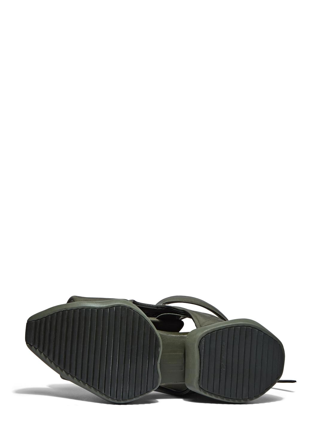 efcc6e089 Rick Owens X Adidas Men s Velcro Strap Ro Cargo Sandals In Khaki in Natural  for Men - Lyst