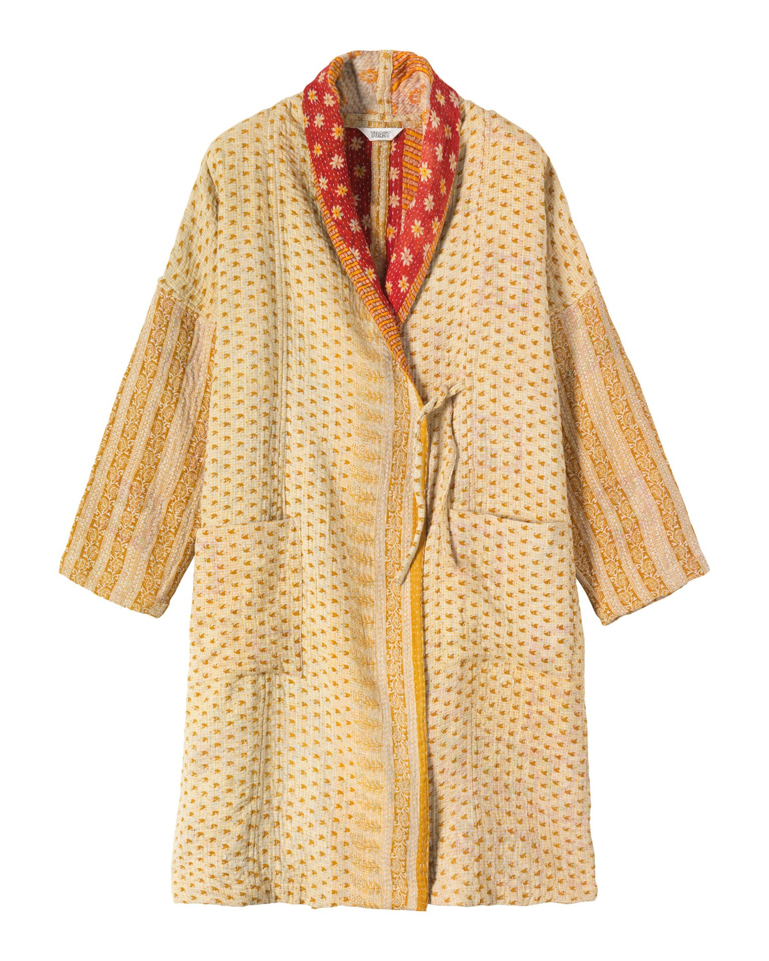 Toast kantha gown in yellow yellows lyst