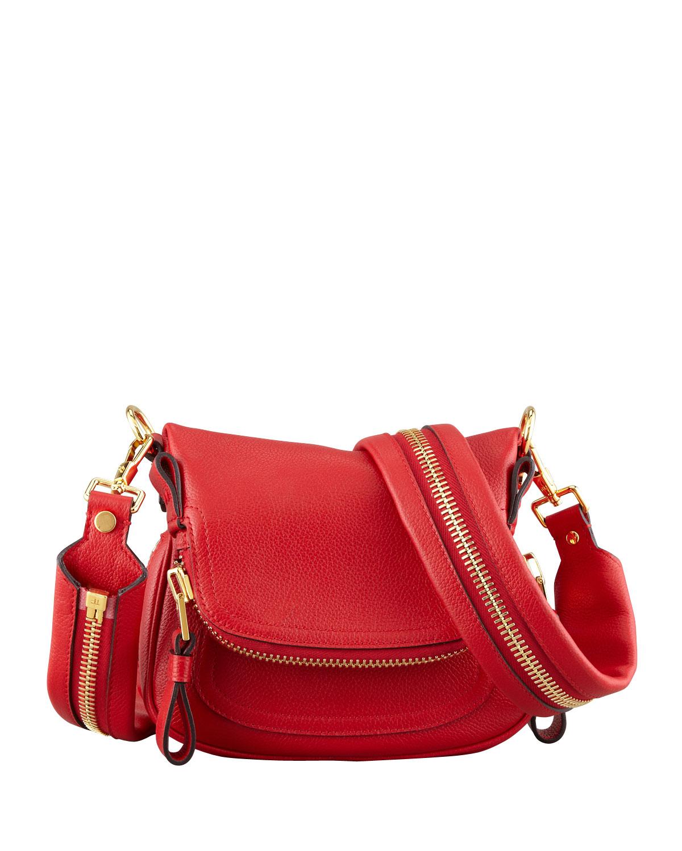 8d0e2c23f Tom Ford Jennifer Mini Crossbody Bag in Red - Lyst