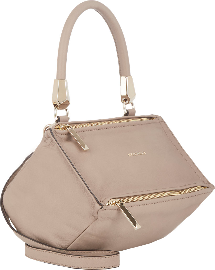 Givenchy Pandora Metal Animation Messenger Bag in Brown (taupe ... abb1d0795e866
