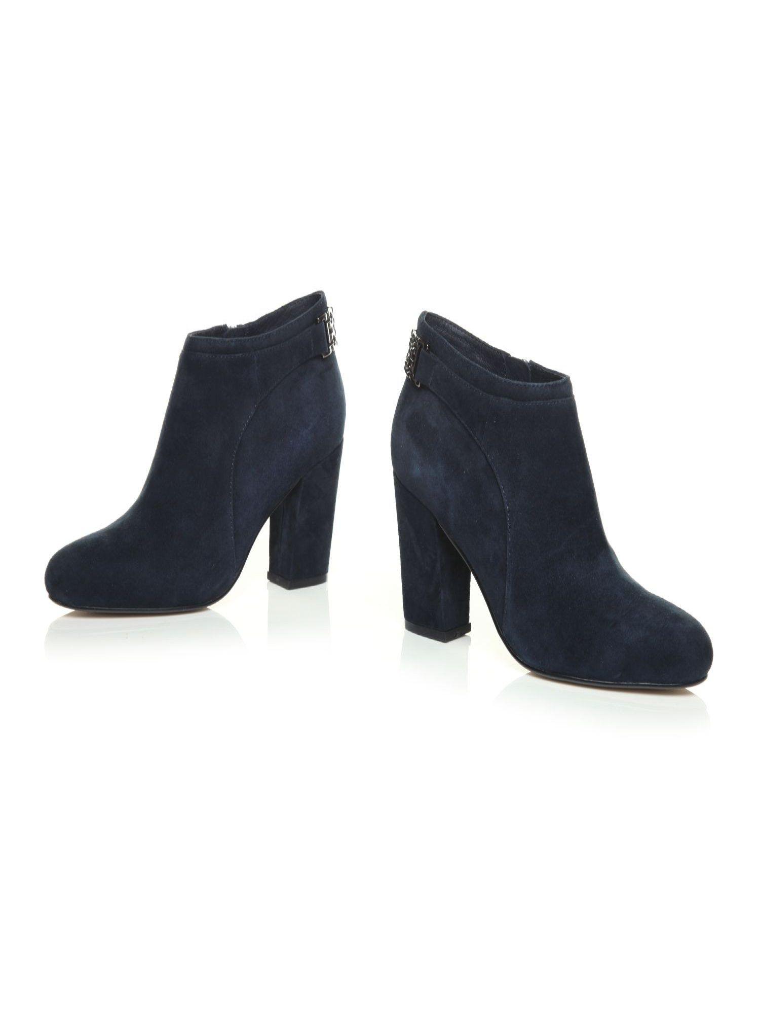 Lyst Lyst Lyst Moda In Pelle Kadina High Smart Short Stiefel in Blau b3ee0b