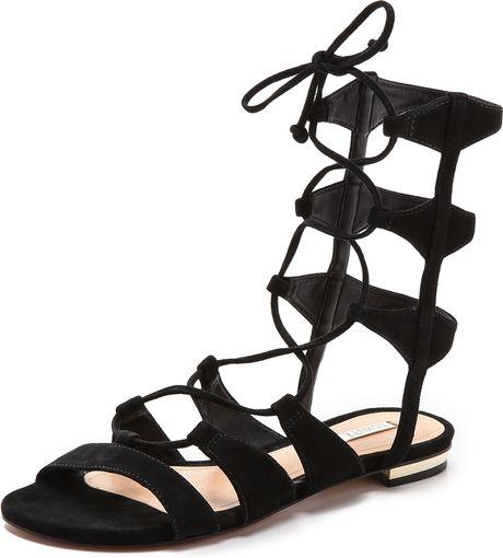 Black Lace up Sandals uk Lace up Sandals Black in