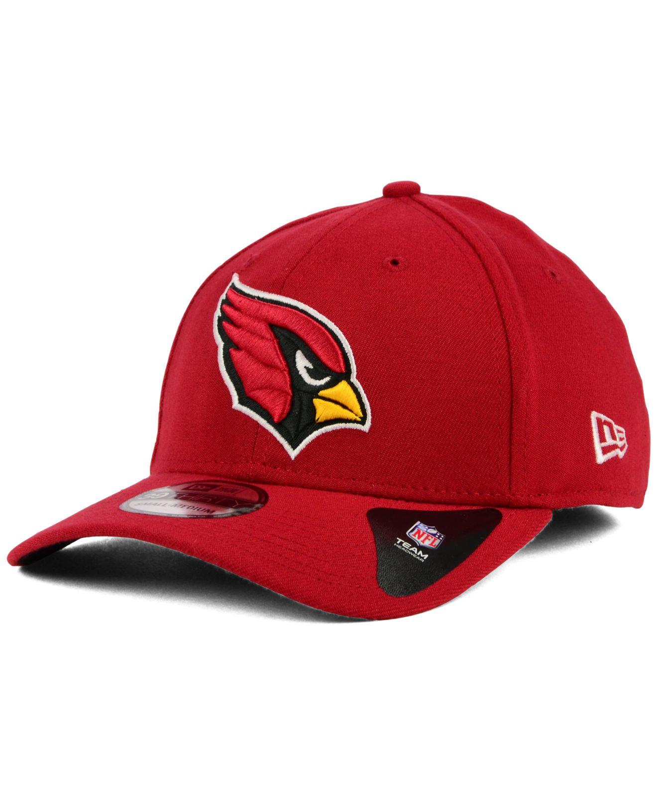 ktz arizona cardinals classic 39thirty cap in red for men. Black Bedroom Furniture Sets. Home Design Ideas