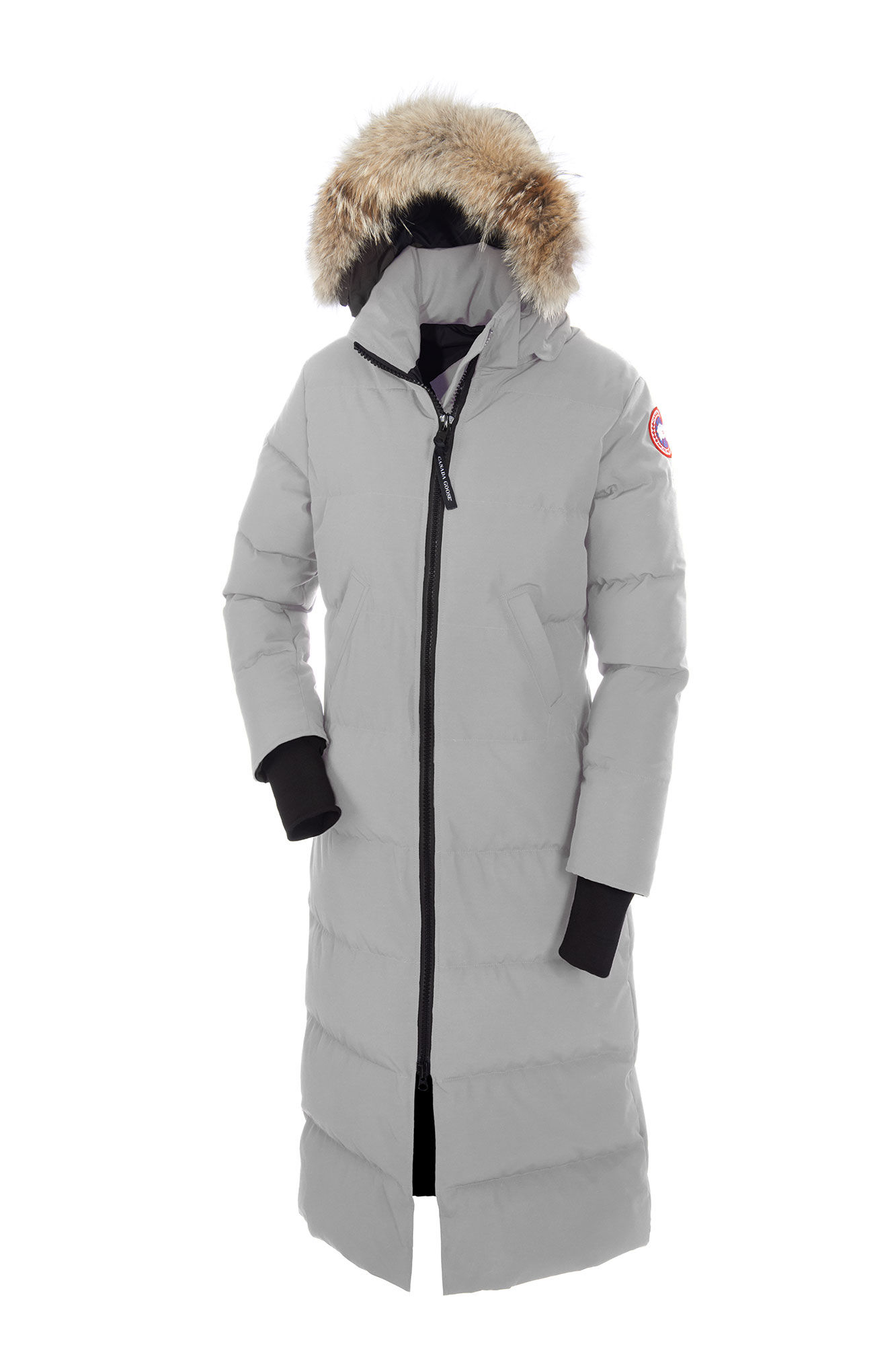 Canada Goose Ebay >> Canada Goose Womens Expedition Down Parka With Fur Hood Gray