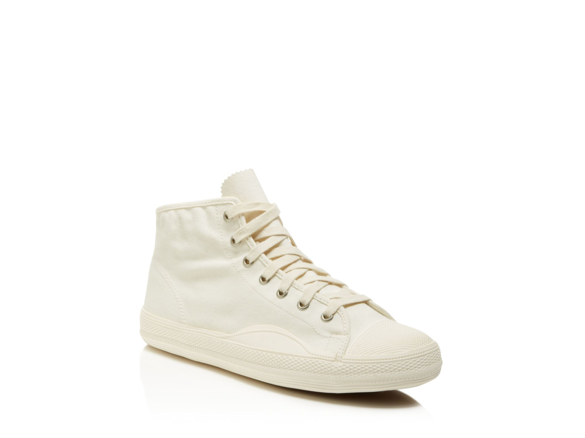Tretorn Racket H Mid Canvas Sneakers In White For Men Lyst