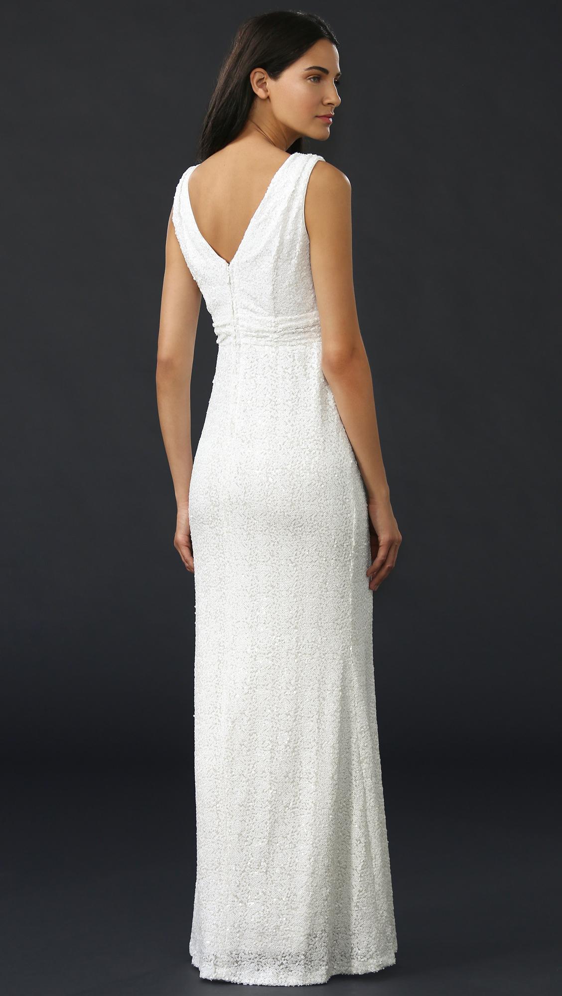 Belle badgley mishka white dress