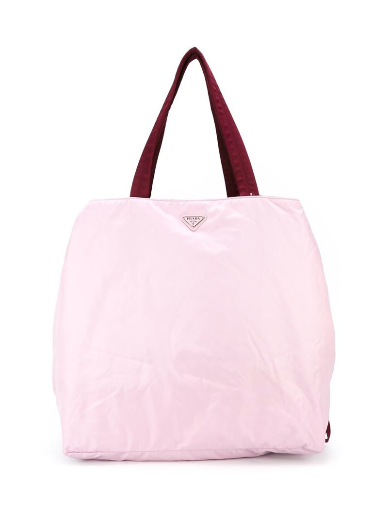 Prada Gym Bag in Pink (PINK \u0026amp; PURPLE) | Lyst