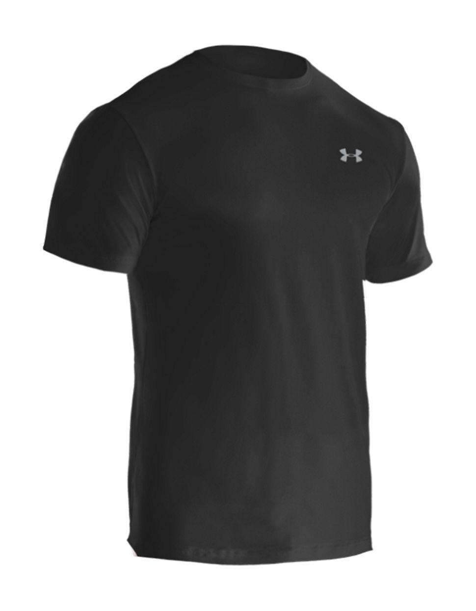 Under armour 2 pack heatgear undershirt in black for men for Mens under armour under shirt