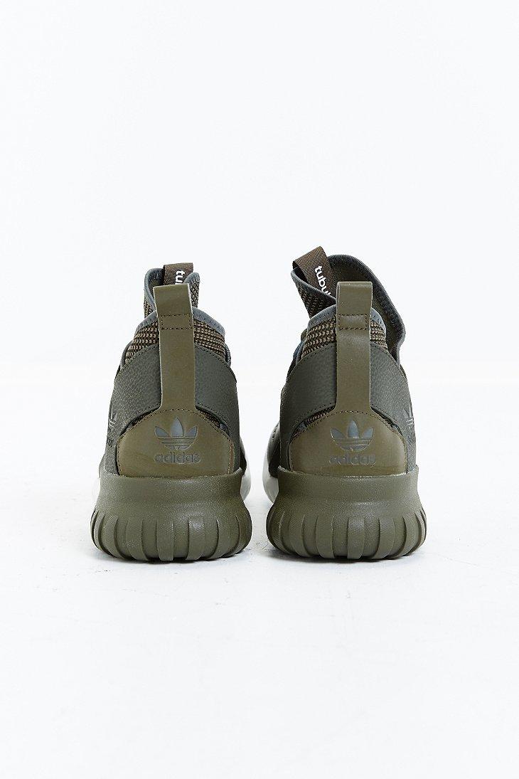 6b8a63aeb54977 Lyst - adidas Tubular X Sneaker in Green for Men