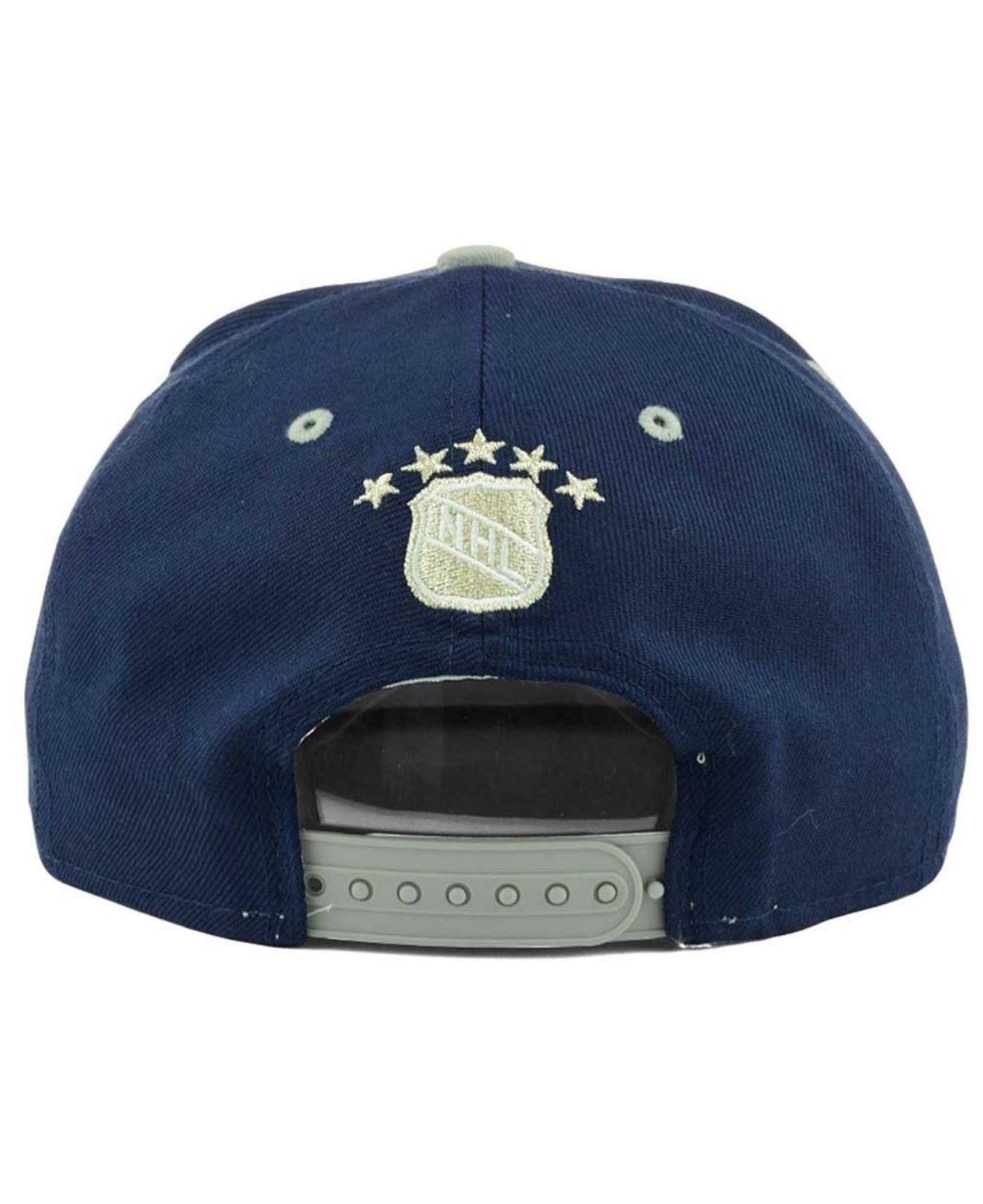 premium selection 835c8 d5963 KTZ Toronto Maple Leafs Vintage 2-tone 9fifty Snapback Cap in Blue ...