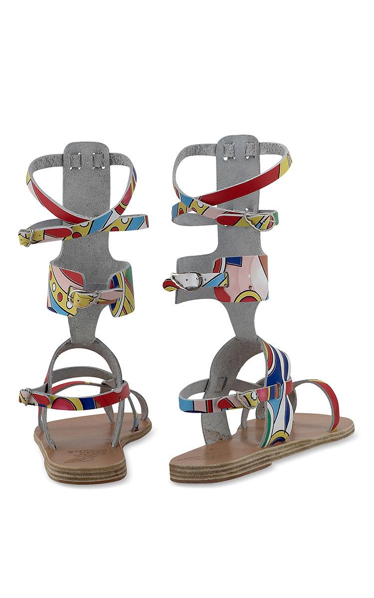 Ancient greek sandals High Gladiator Sandal In Multi ...