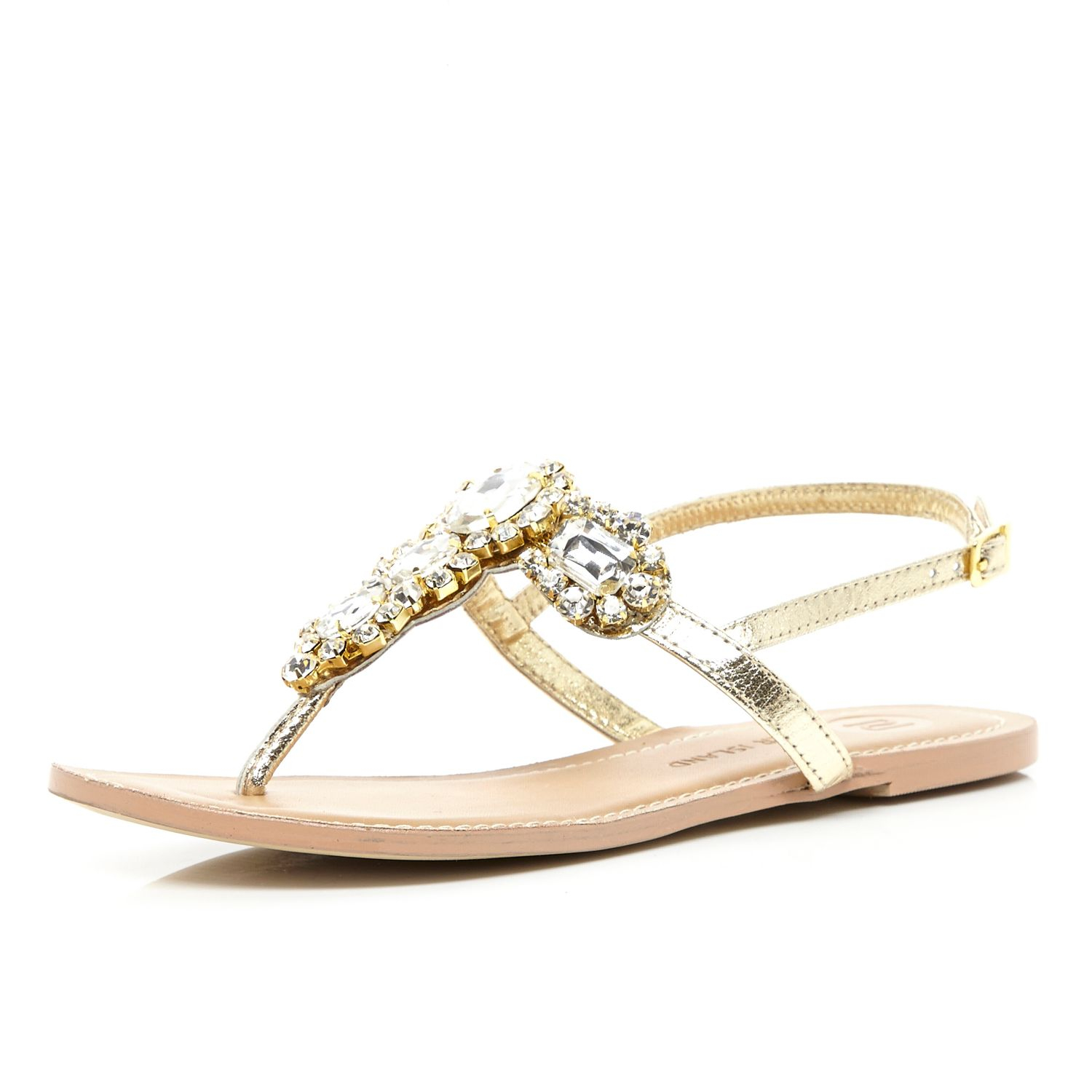 Simple The Touch Ups Melanie Sandals In Gold Feature Kitten Heel Leather