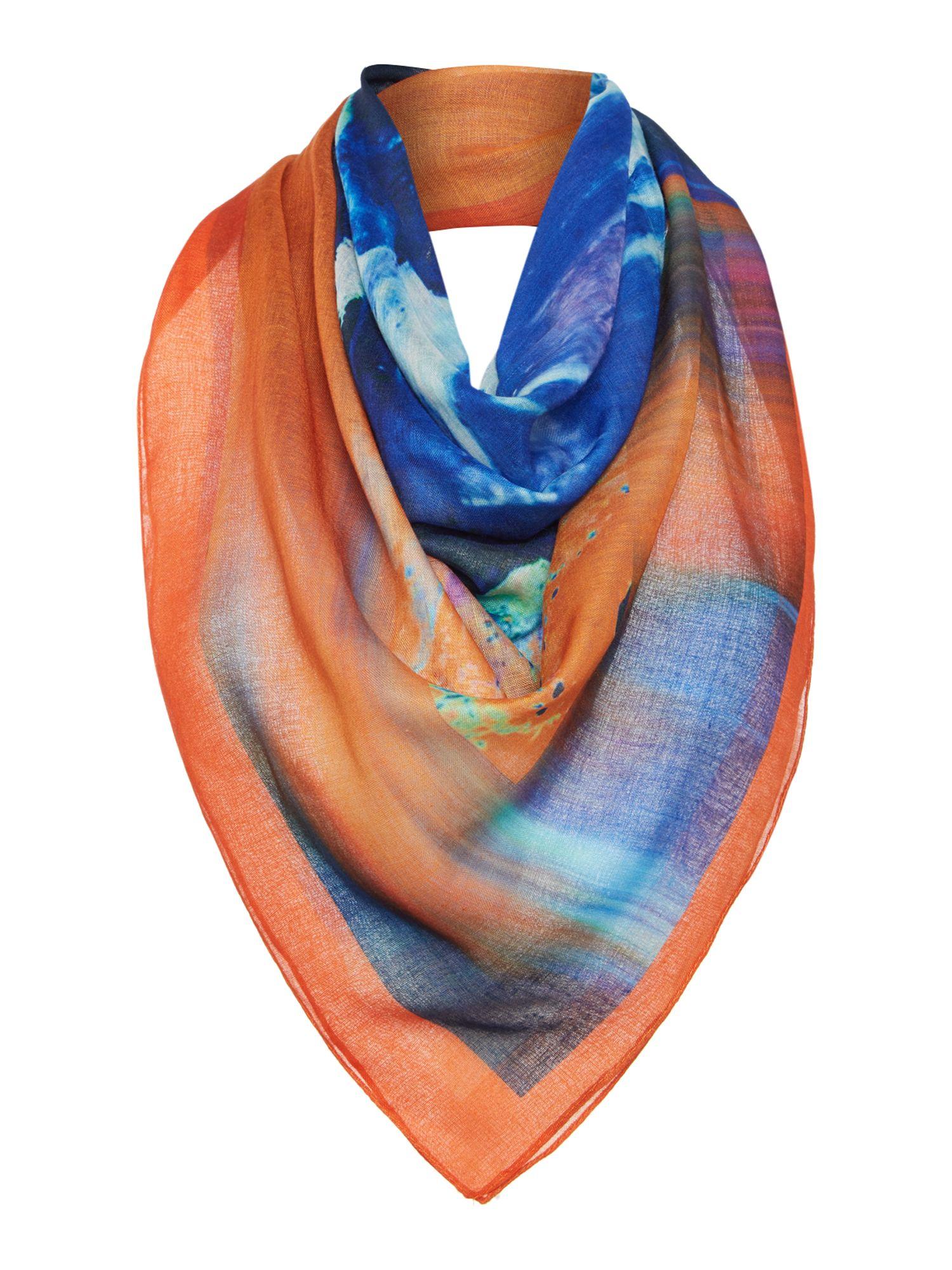 label lab abyss foulard lightweight scarf lyst