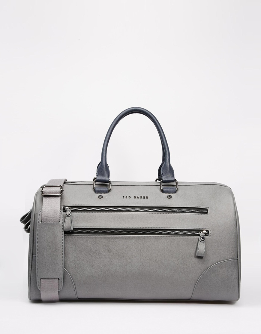 Lyst Ted Baker Tweener Holdall With Contrast Detail In