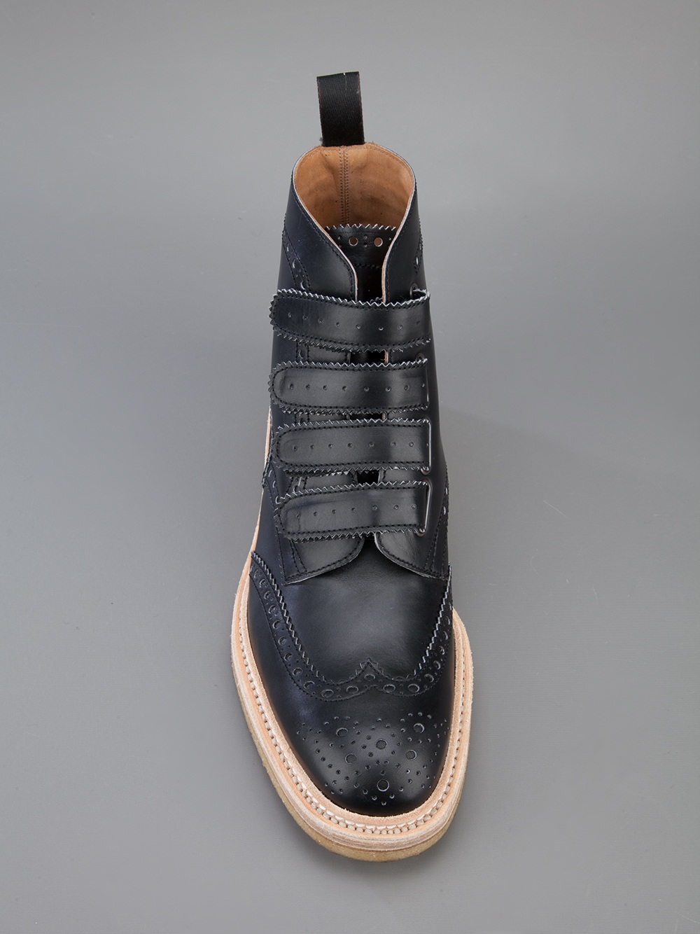 Lyst - Weber Hodel Feder High-Top Calf-Leather Brogues In -5897