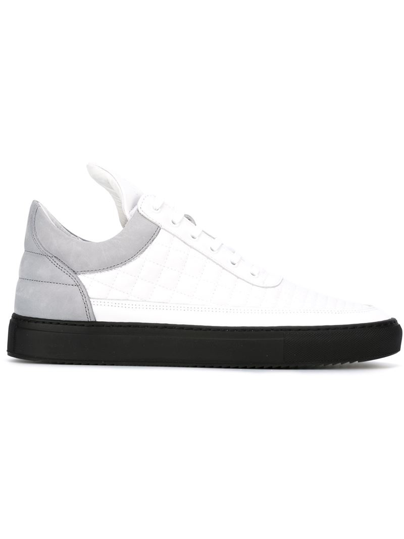 Filling pieces Panelled sneakers OQ9E7i