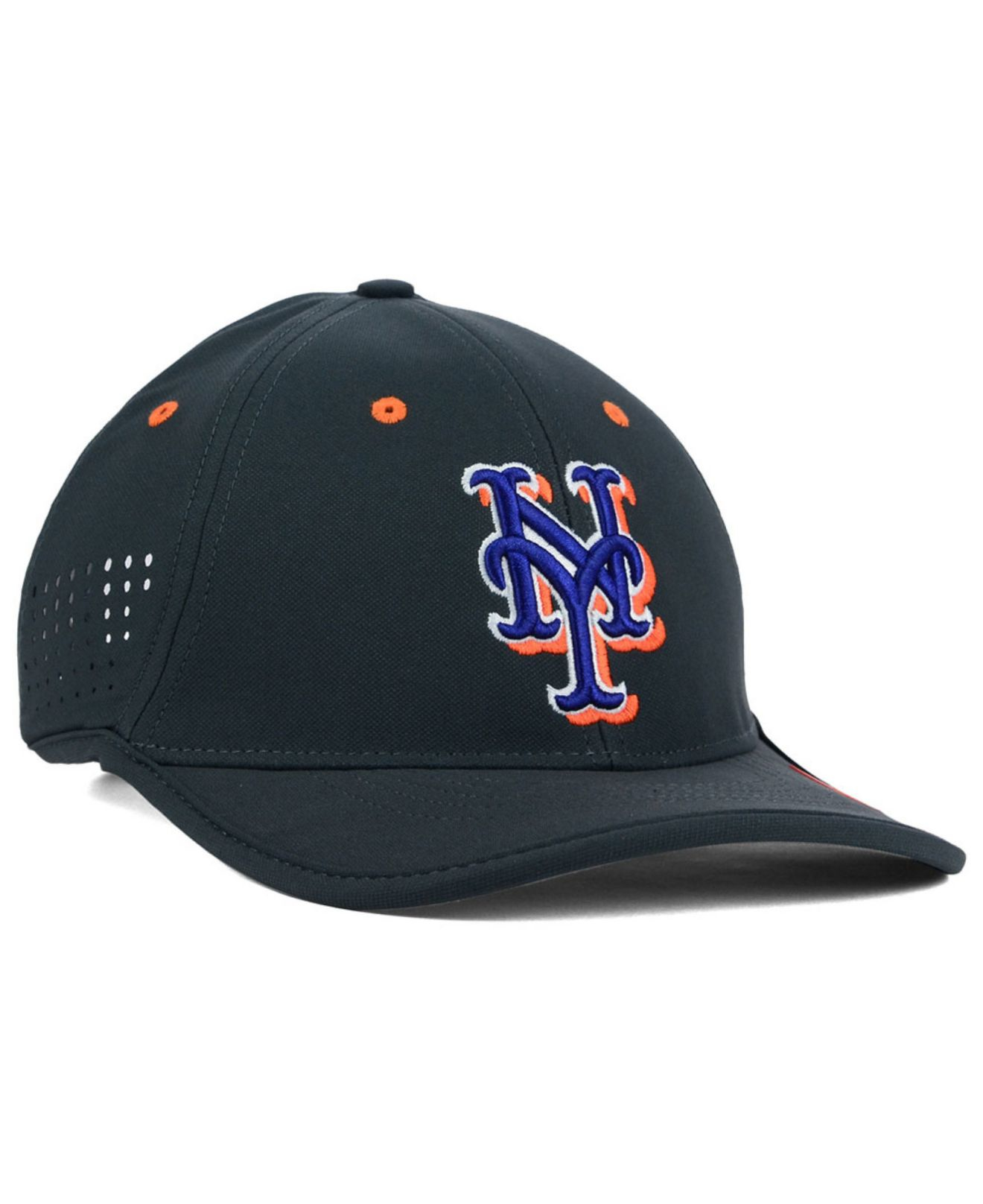 5cac3669de8ff ... low price lyst nike new york mets vapor swoosh adjustable cap in gray  for men 981ac