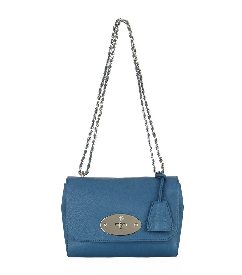 fd377361951 Mulberry Small Lily Shoulder Bag in Blue - Lyst