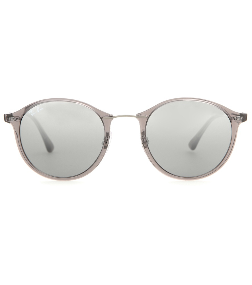 72361e7b703 Lyst - Ray-Ban Rb4242 Round Sunglasses in Gray