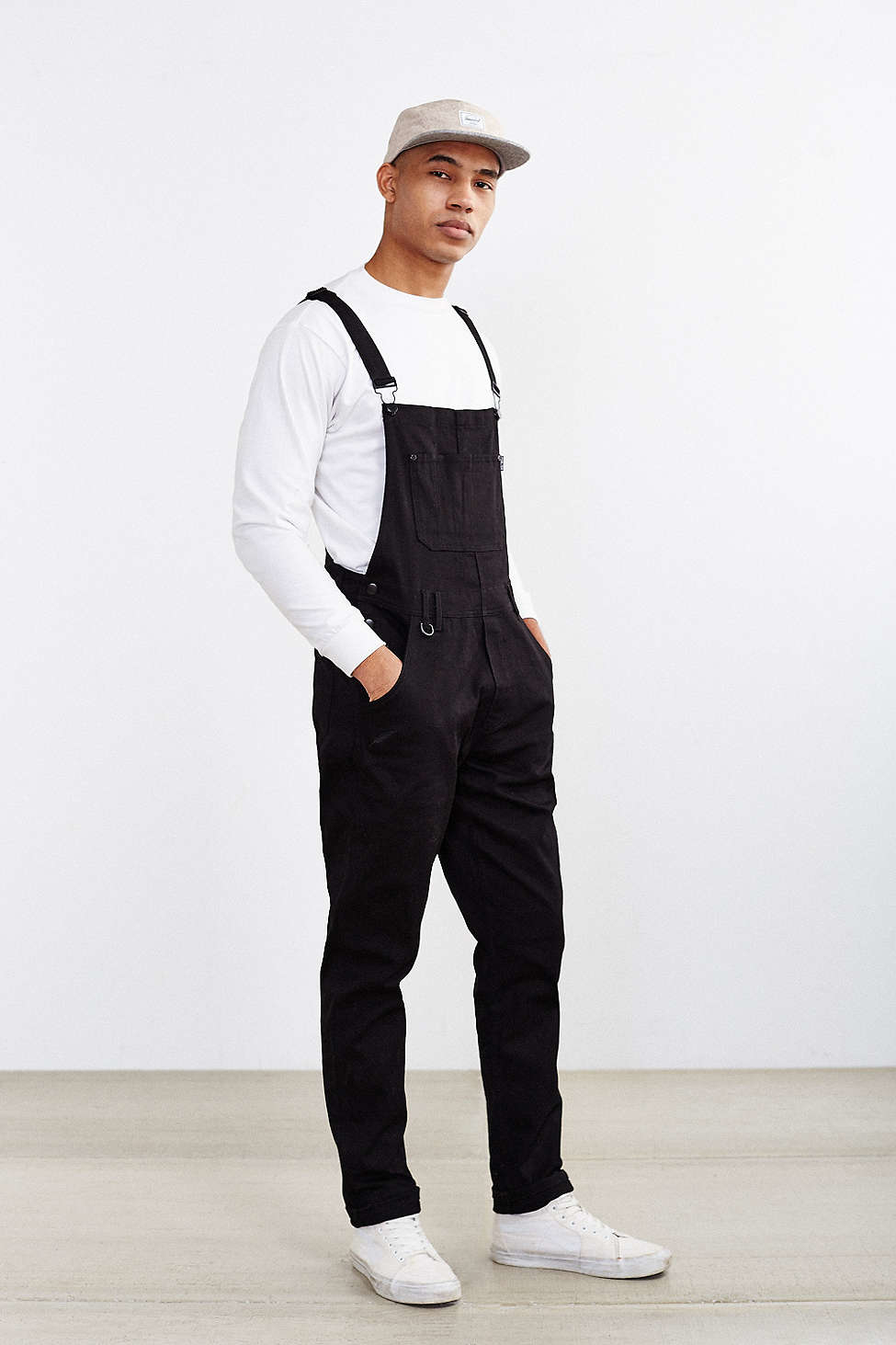 Publish Sawyer Overall In Black For Men
