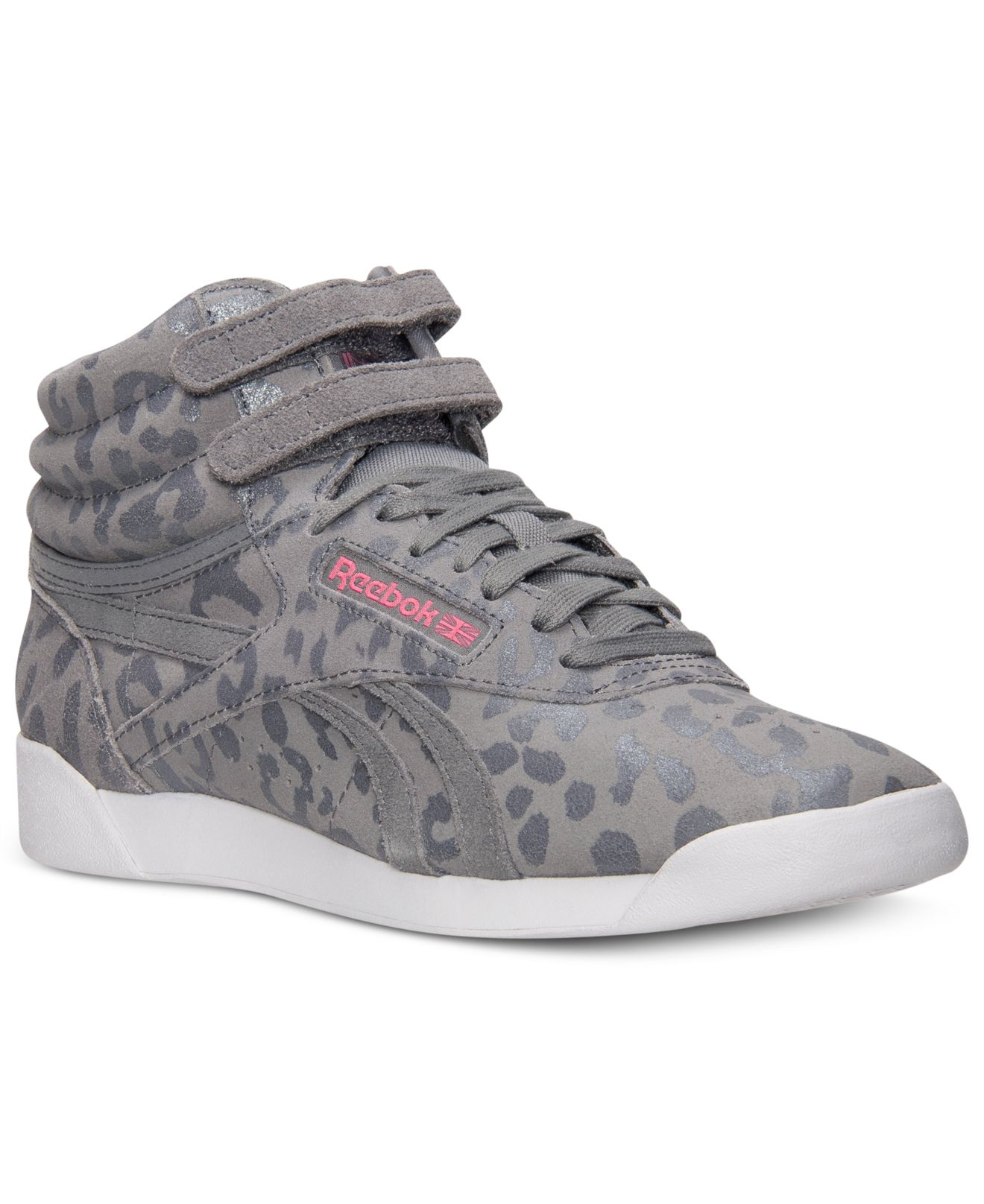 e009ec8fc89 Lyst - Reebok Women s Freestyle Hi Eden Casual Sneakers From Finish ...