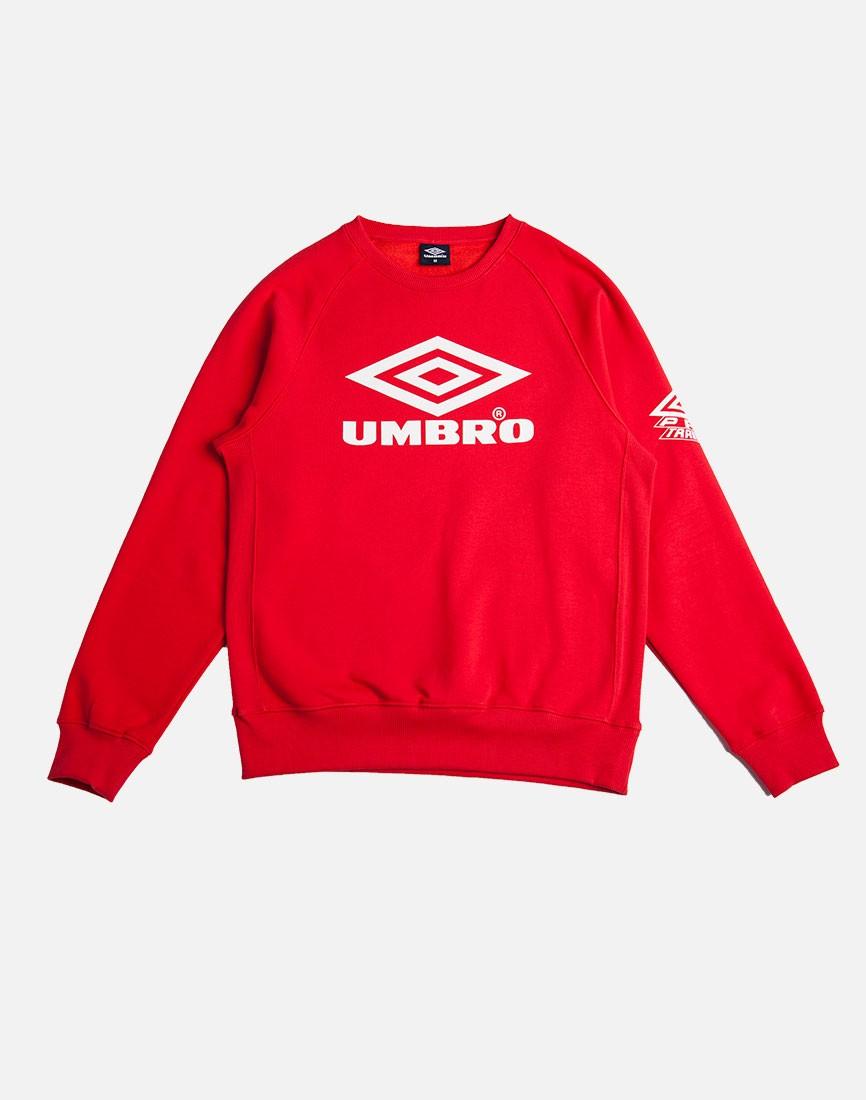 Umbro Classic Crew Sweatshirt Red in Red for Men | Lyst