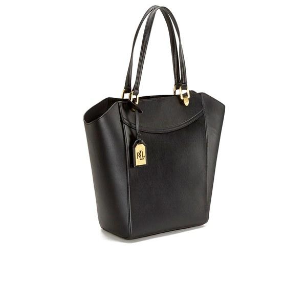 003f245522 Lauren by Ralph Lauren Women s Lexington Tote Bag in Black - Lyst