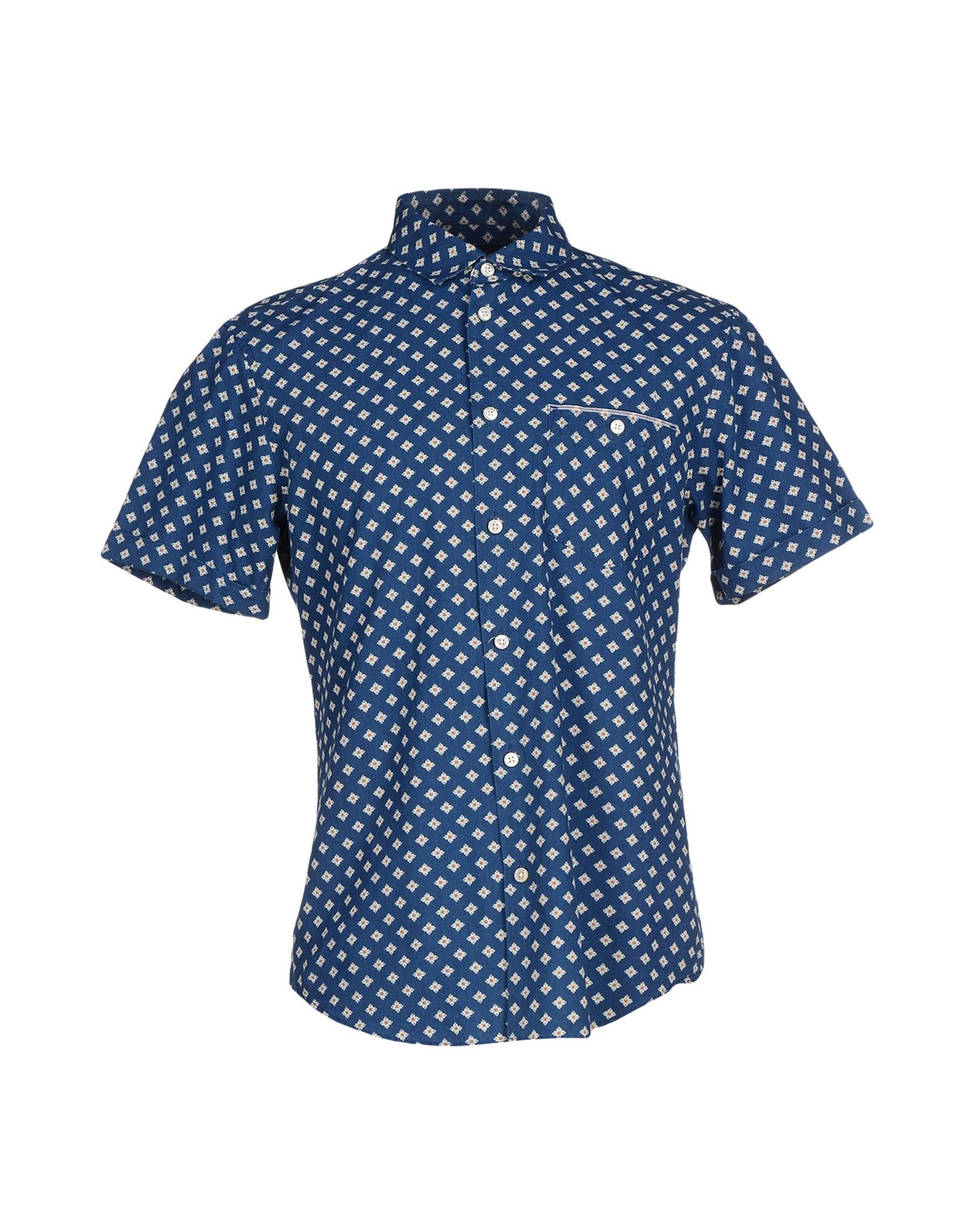 marc by marc jacobs shirt in blue for men lyst