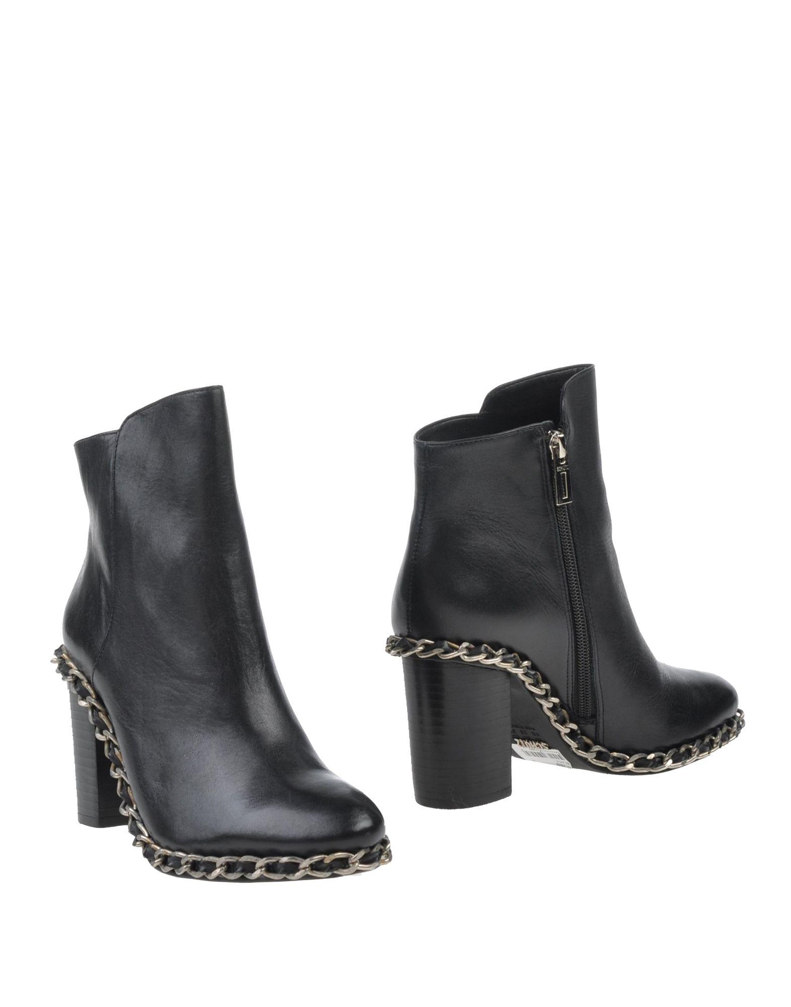 schutz ankle boots in black lyst