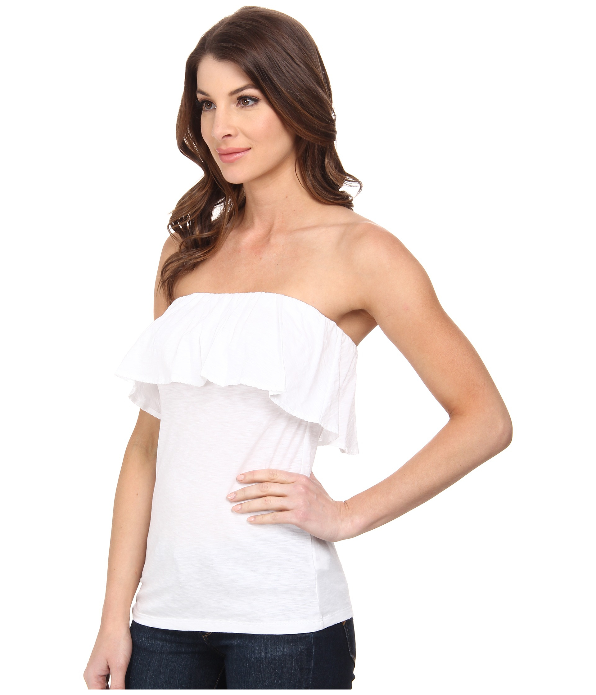 fd2f012e3b Lyst - Lilly Pulitzer Wiley Tube Top in White
