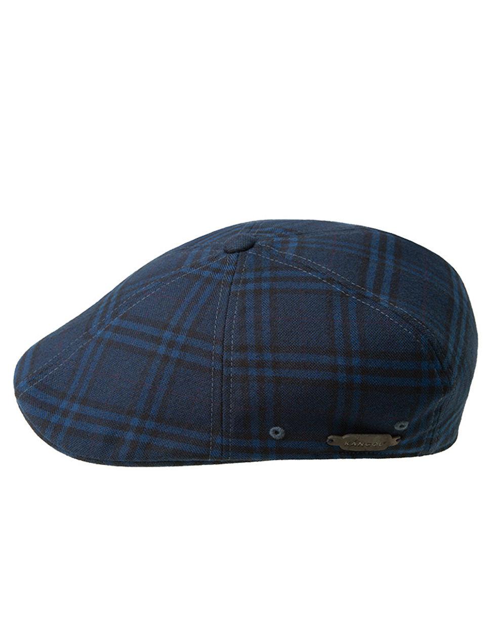 f7ee9f46157 Kangol plaid newsboy cap in blue for men lyst jpg 970x1245 Plaid newsboy cap