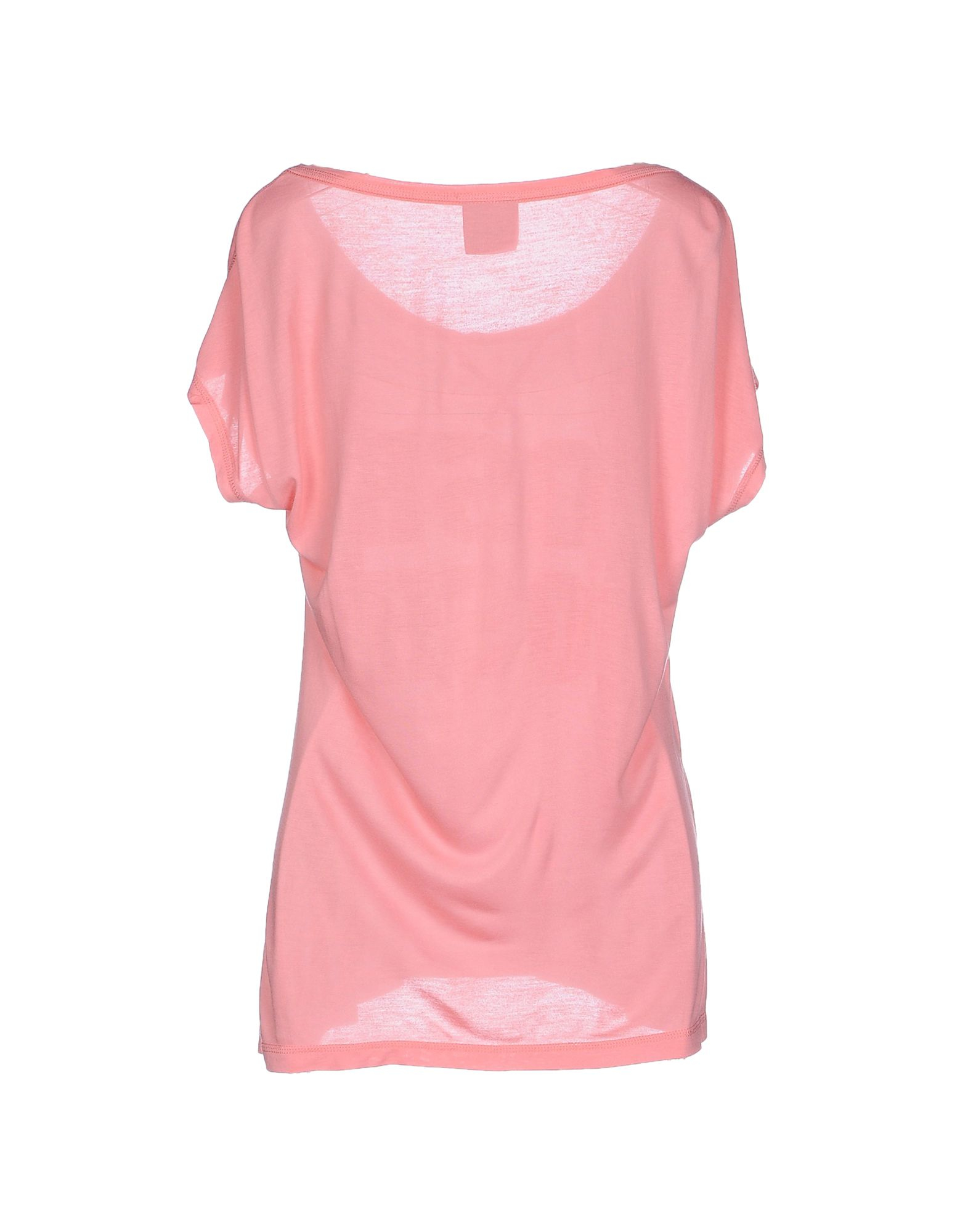 vero moda t shirt in pink lyst. Black Bedroom Furniture Sets. Home Design Ideas