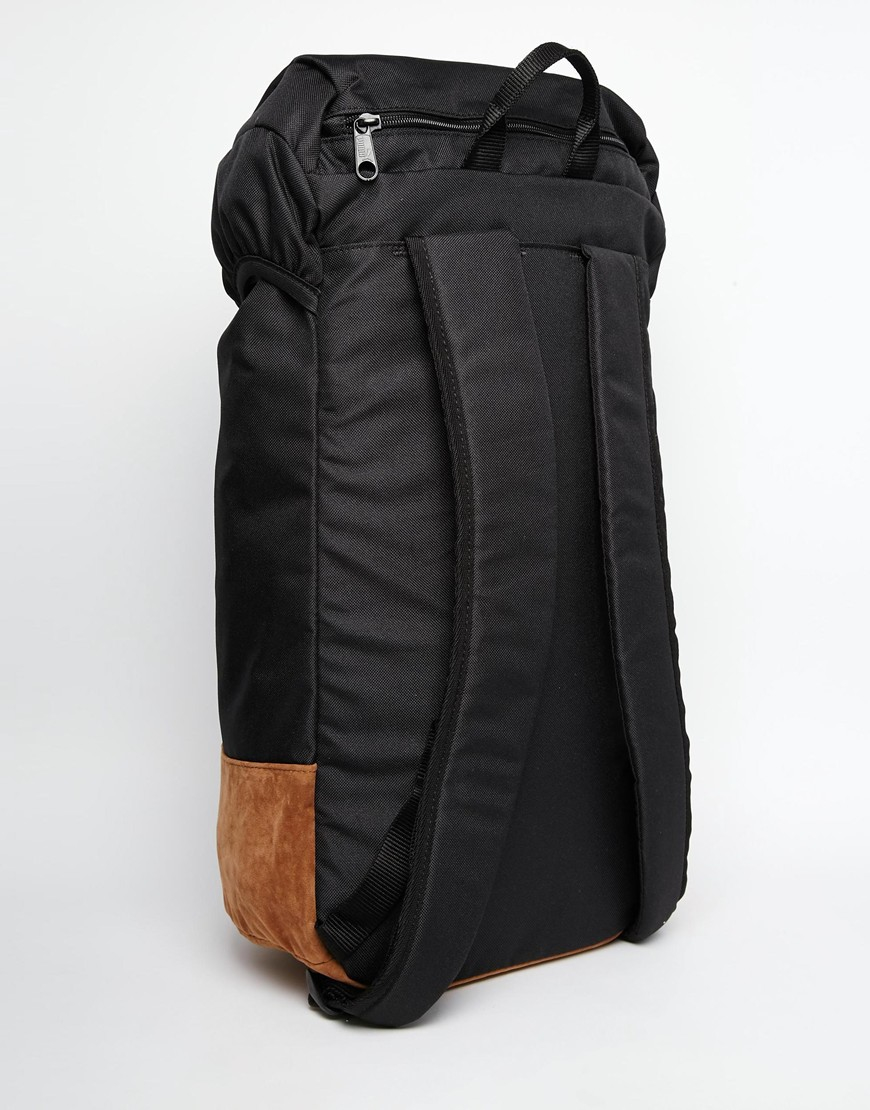 380ff0b503b1b PUMA Suedette Backpack in Black for Men - Lyst