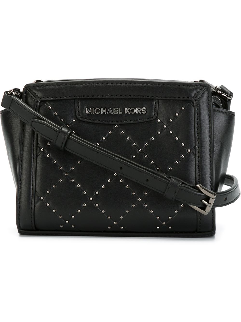 db9c006788fb Michael Kors Selma Black Mini Cross Body Bag | Stanford Center for ...