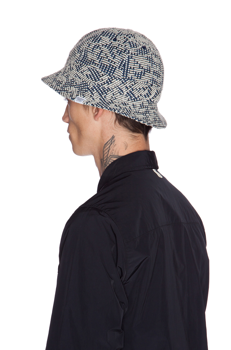 98c83764872 Lyst - Norse Projects Bubble Weave Bucket Hat in White for Men