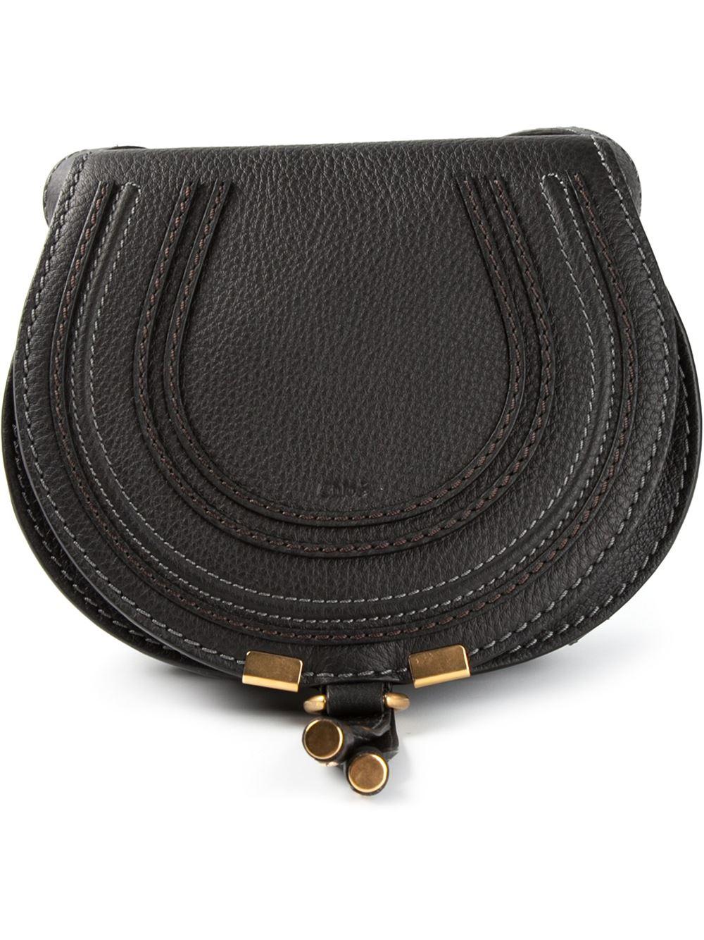 red chloe bags - Chlo�� Mini 'marcie' Shoulder Bag in Black | Lyst