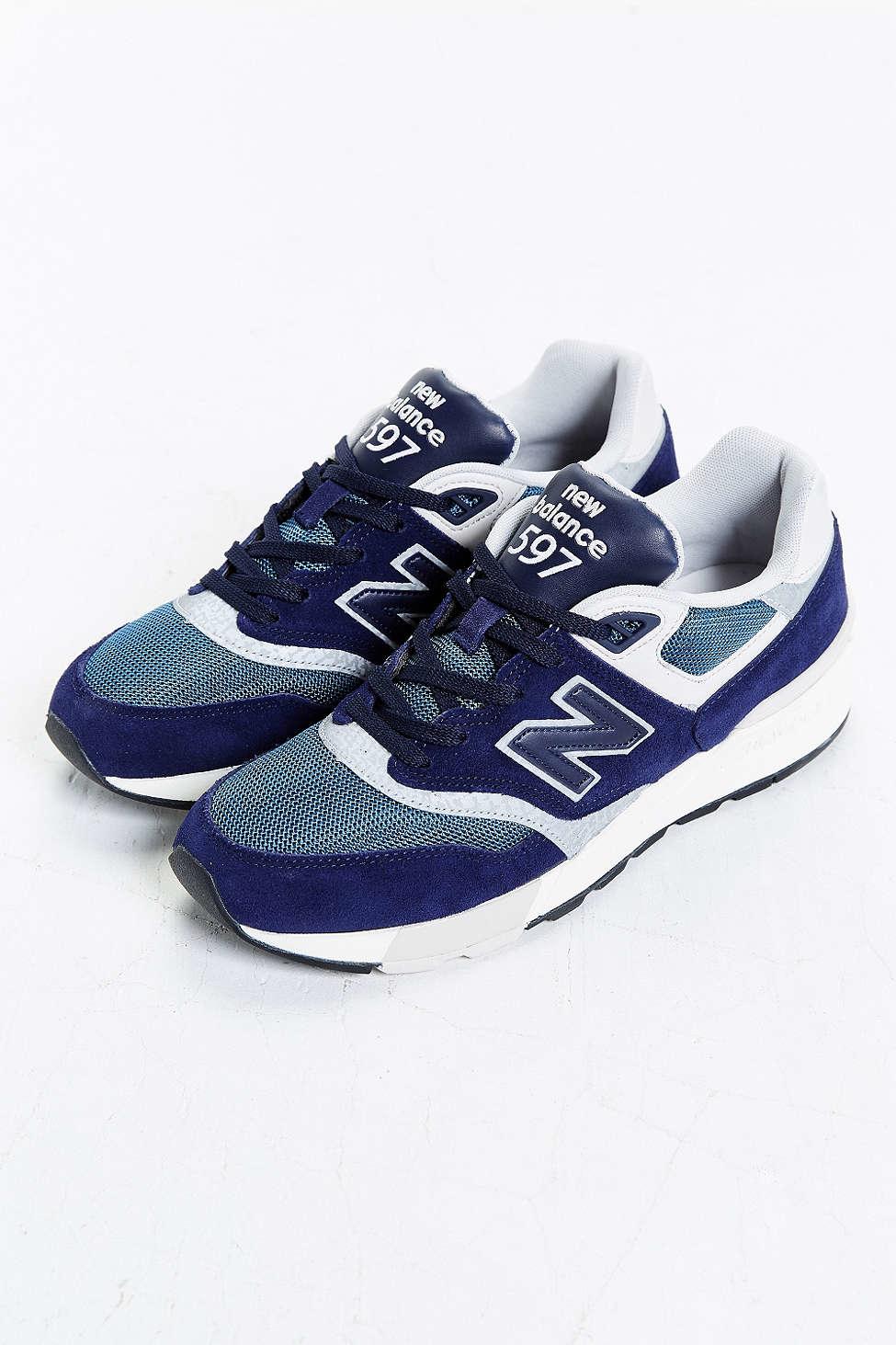 check out dbd1b 96e86 New Balance Blue 597 Sneaker for men
