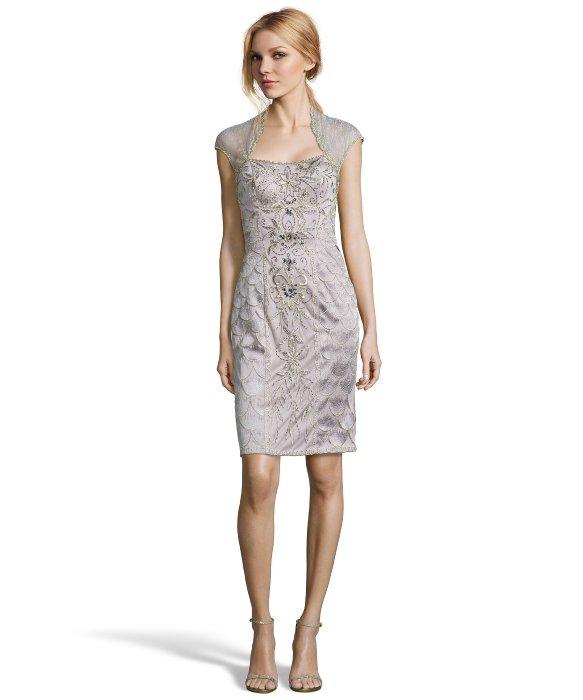 Short Platinum Party Dresses