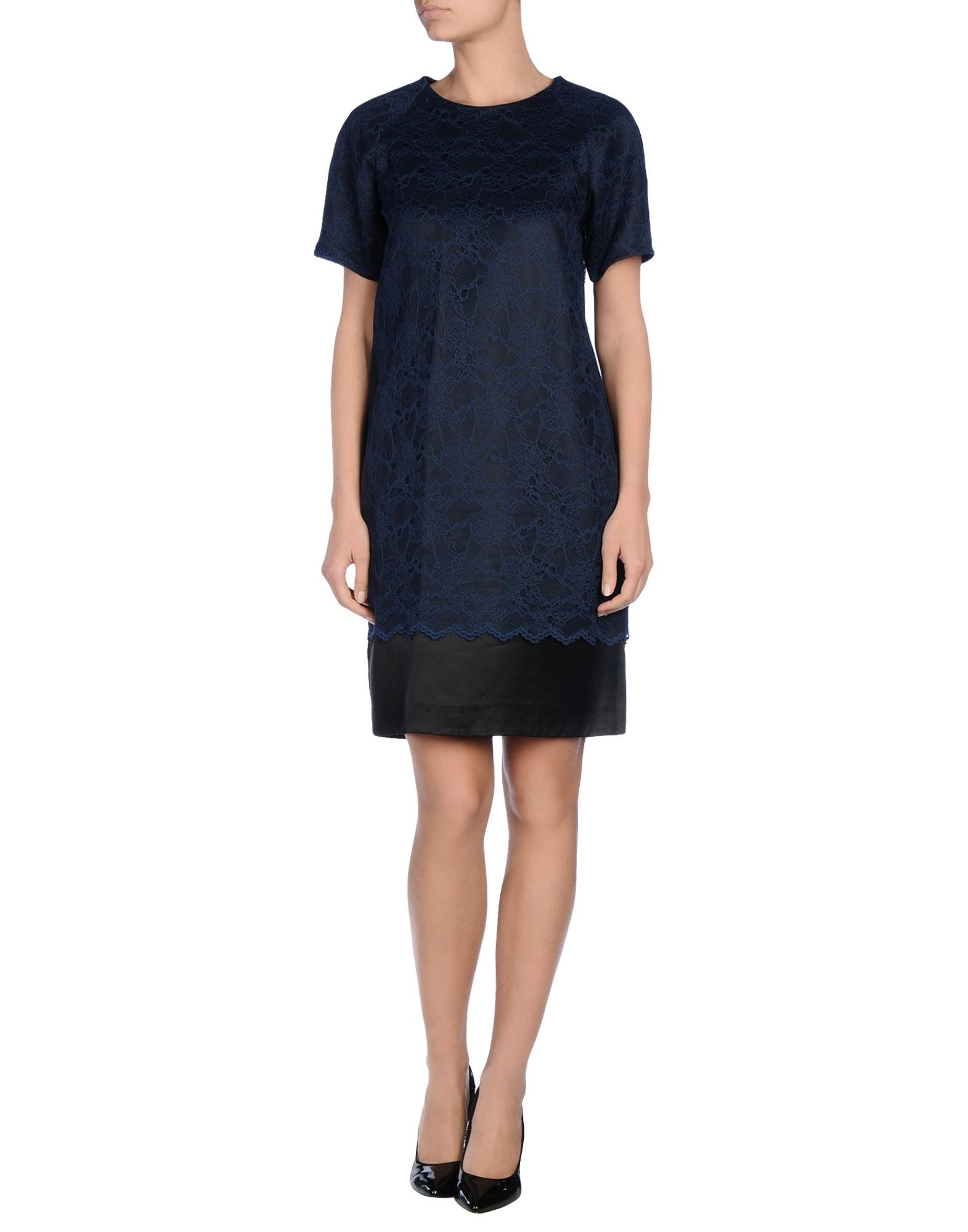 Lyst Matthew Williamson Short Dress In Blue